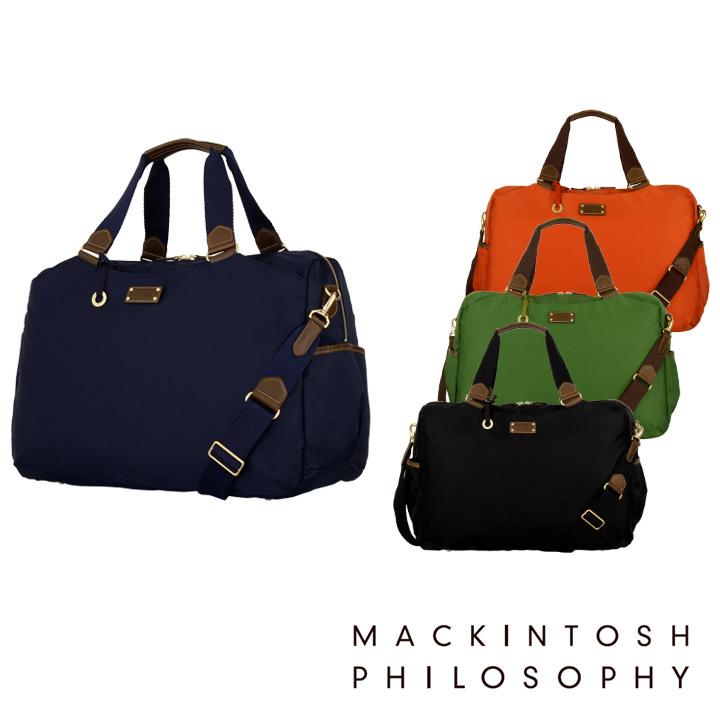苹果机哲学MACKINTOSH PHILOSOPHY宽底旅行皮包45566