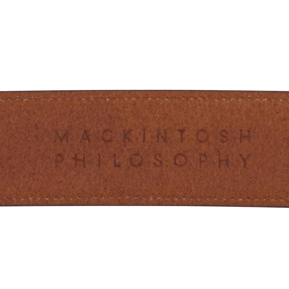 マッキントッシュフィロソフィー ベルト メンズ 日本製 8080118 MACKINTOSH PHILOSOPHY 牛革 本革 レザー ブランドブランド専用BOX付き befPO10即日発送xWQrCodBe