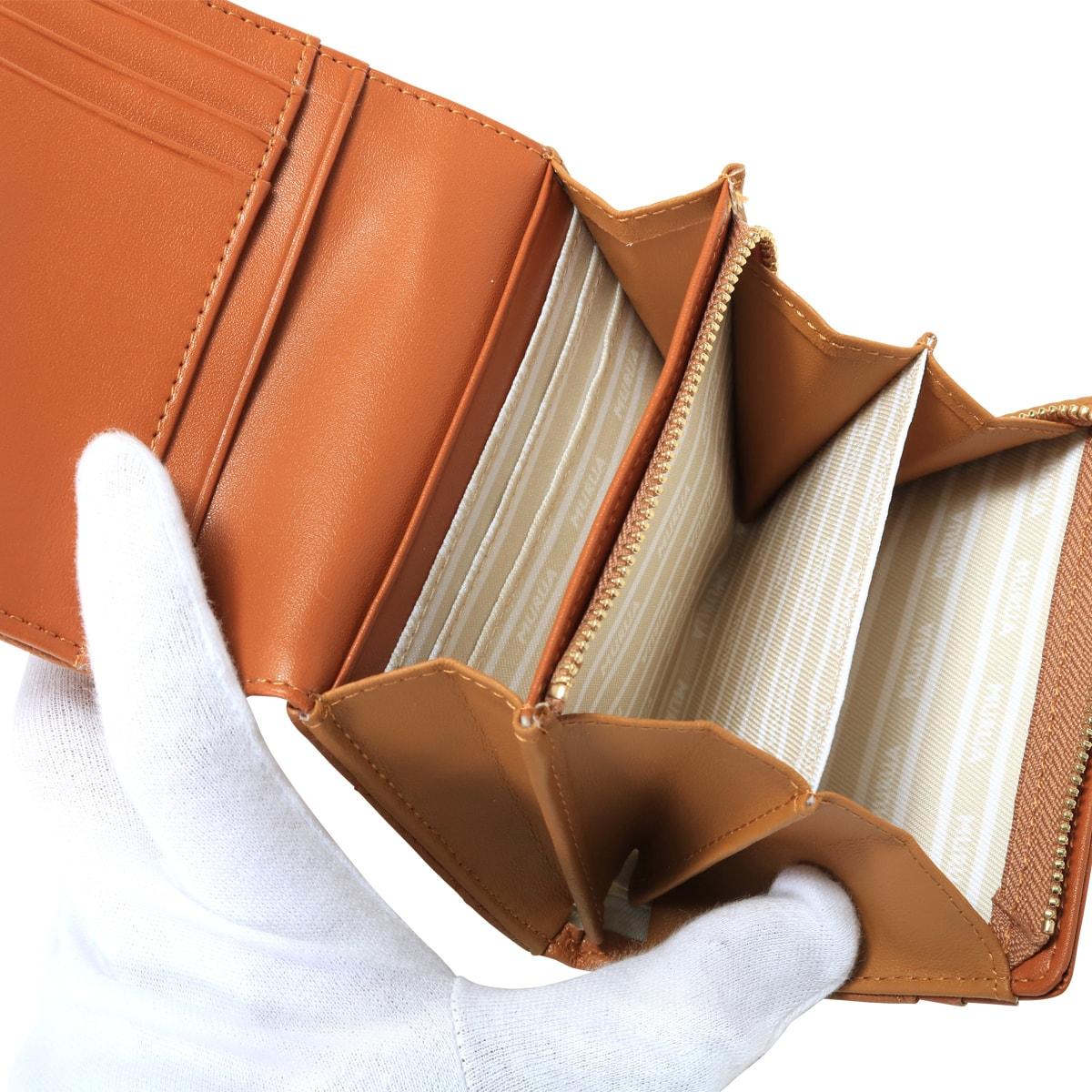 buy popular 1833f 5aa77 bef] キルティング ブランド専用BOX付き 二つ折り財布 ...
