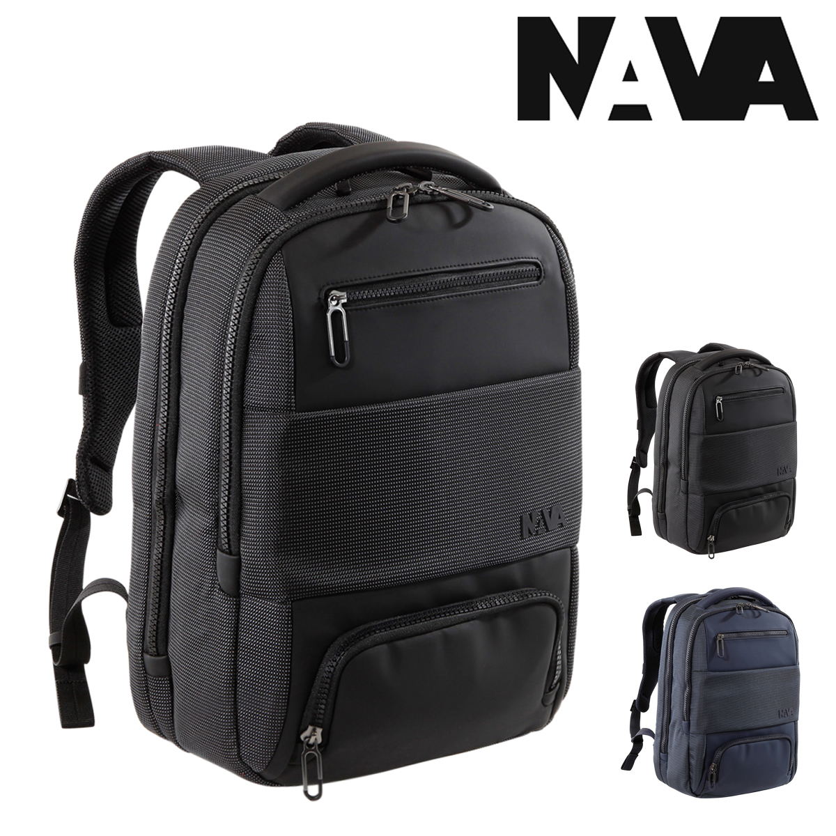 NAVA design リュック ゲート メンズ GT070 ナヴァデザイン GATE | リュックサック バックパック デイパック ビジネスバッグ キャリーオン PCケース 15インチ[PO10][bef]