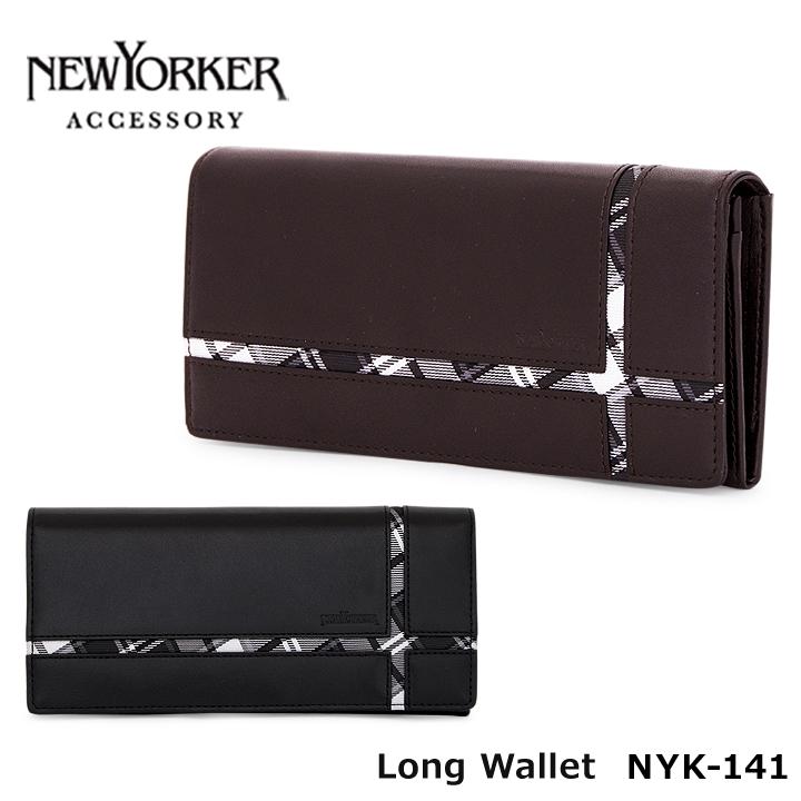 ニューヨーカー NEWYORKER 長財布 NYK141 【 メンズクロス 】【 財布 メンズ レザー 】[PO5][bef]