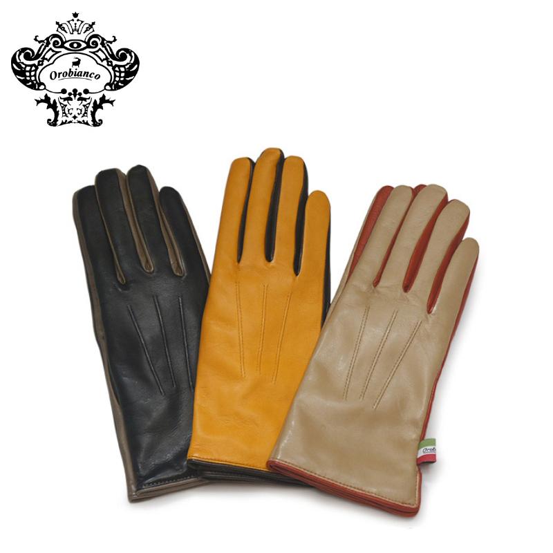 オロビアンコ 手袋 レディース ORL-1580 【 女性用 グローブ OROBIANCO 】【PO5】【bef】【即日発送】