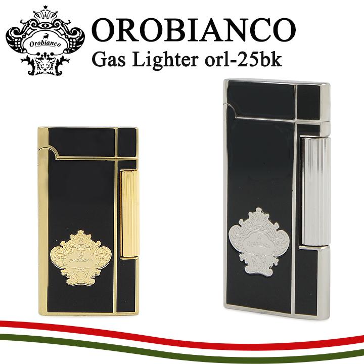オロビアンコ ライター ORL-25 【 OROBIANCO 】【 フリント式 ガス注入式 】【即日発送】【PO10】