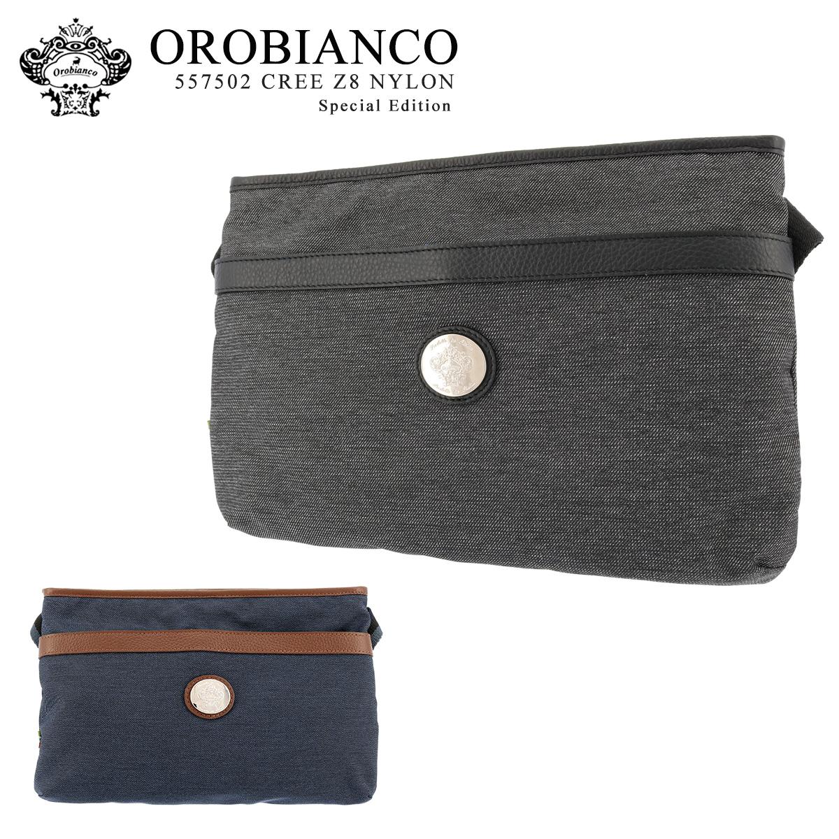 オロビアンコ ショルダーバッグ CREE-Z8 557502 OROBIANCO メンズ サコッシュ