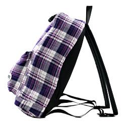 户外产品帆布背包格子花纹ODX-01 80紫PURPLE