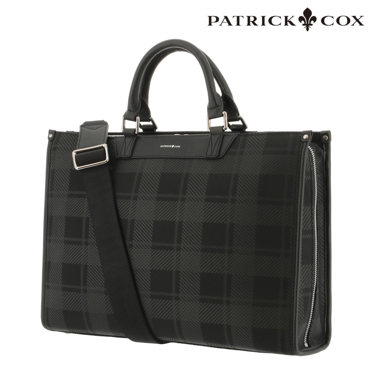 パトリックコックス ビジネスバッグ A4 メンズ PXMH0BV1 PATRICK COX | ブリーフケース ショルダーベルト