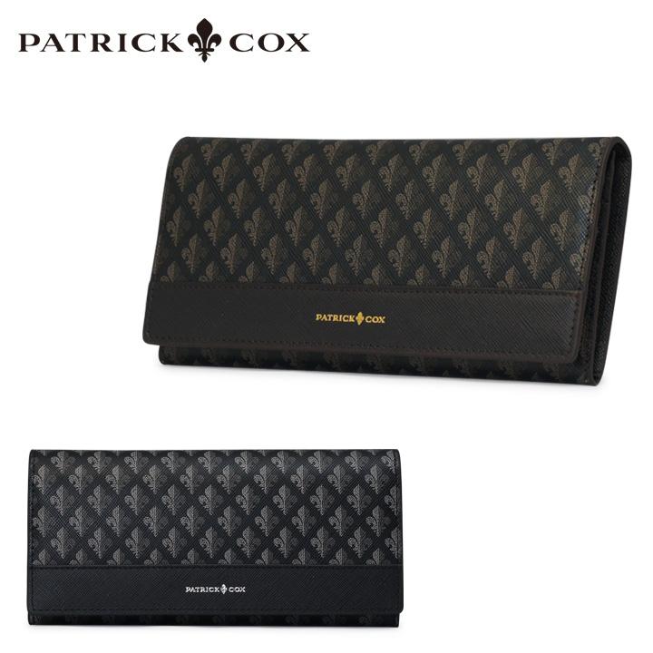 パトリックコックス 長財布 メンズ pxmw6dt1 Maison PATRICK COX 本革 ブランド専用BOX[bef]