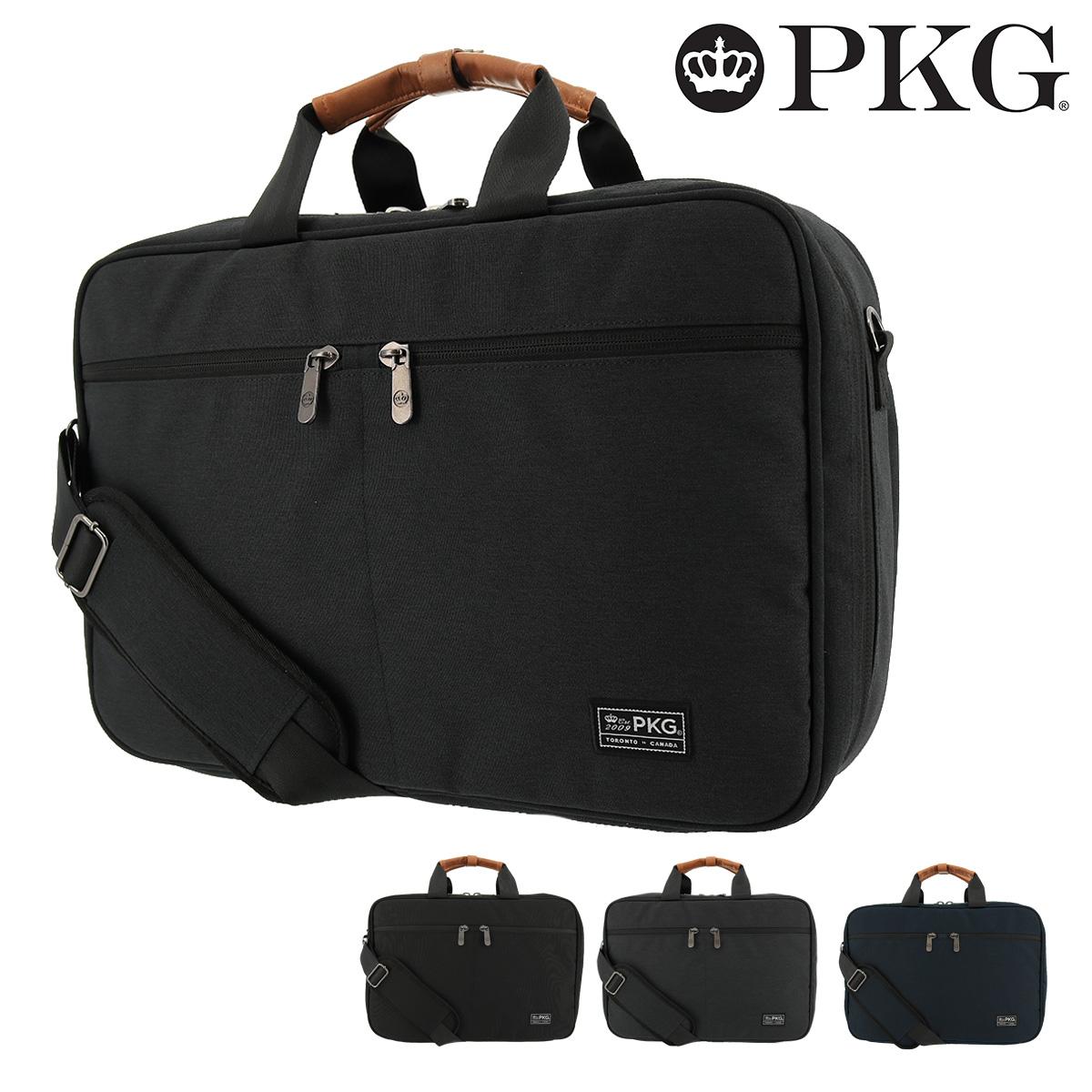 ピーケージー ブリーフケース 3WAY ピアソン メンズ レディース 19PE PKG PEARSON | ビジネスバッグ ショルダーベルト付き 20L 16インチ ナイロン 防水 撥水 [bef]