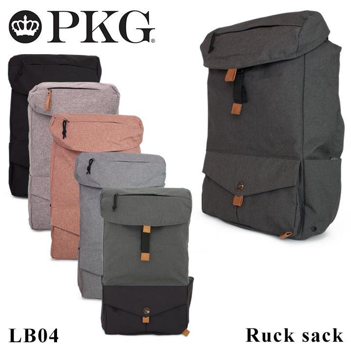 ピーケージー PKG リュック LB04 【 DRI collection 】【 リュックサック デイパック バックパック メンズ】[PO10][bef]