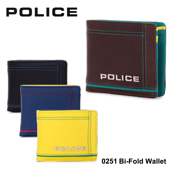 ポリス 二つ折り財布 PA58400 (0251) POLICEColors カラーズ 財布 メンズ [PO10][bef]