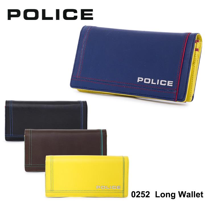 ポリス 長財布 PA58401 (0252) POLICEColors カラーズ メンズ 財布 [PO10][bef]