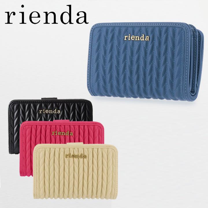 8af33a9e1cdc リエンダ rienda 二つ折り財布 r03271202 【 札入れ レディース 】【 GISELe 5月号掲載