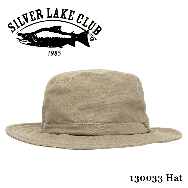 シルバーレイククラブ SILVER LAKE CLUB 帽子 130033 9号帆布 つば厚 ハット メンズ 撥水性 [bef]