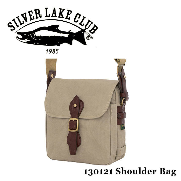 シルバーレイククラブ SILVER LAKE CLUB ショルダーバッグ 130121 9号帆布 メンズ 撥水性 [PO10][bef]