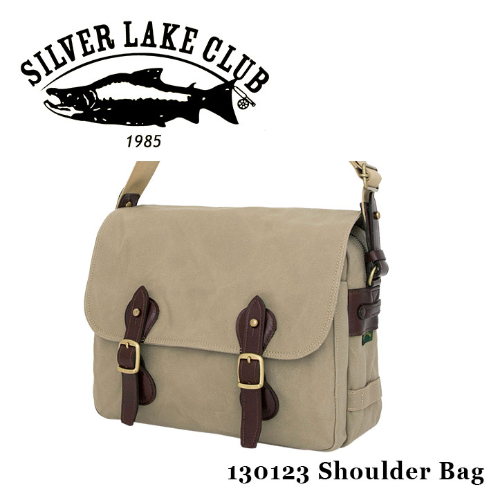 シルバーレイククラブ SILVER LAKE CLUB ショルダーバッグ 130123 9号帆布 【 メンズ 撥水性 】[PO10][bef]