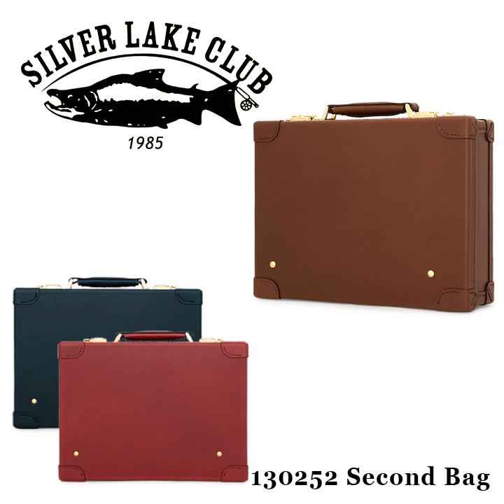 シルバーレイククラブ SILVER LAKE CLUB セカンドバッグ 130252 オイルレザー 【 ミニトランク メンズ レザー 】【PO10】【bef】