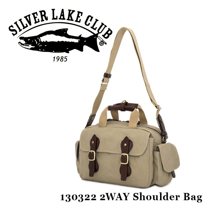 シルバーレイククラブ SILVER LAKE CLUB ショルダーバッグ 130322 9号帆布 【 2WAY ハンドバッグ メンズ 撥水性 】【PO10】【bef】