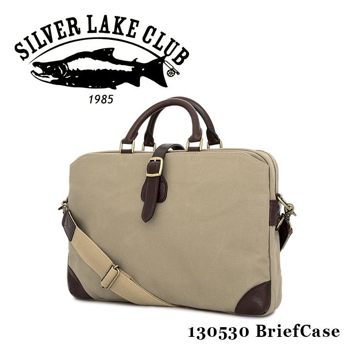 シルバーレイククラブ SILVER LAKE CLUB ブリーフケース 130530 9号帆布 【 2WAY ショルダーバッグ ビジネスバッグ メンズ 撥水性 】[PO10][bef]