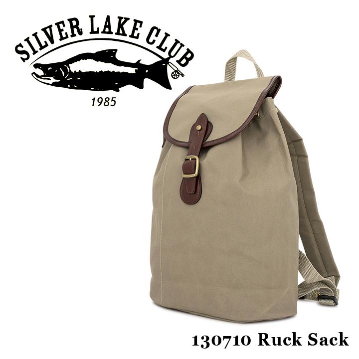 シルバーレイククラブ SILVER LAKE CLUB リュック 130710 9号帆布 【 リュックサック メンズ 撥水性 】【PO10】【bef】