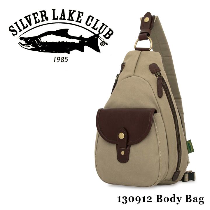 シルバーレイククラブ SILVER LAKE CLUB ボディバッグ 130912 9号帆布 ワンショルダー メンズ 撥水性 [PO10][bef]