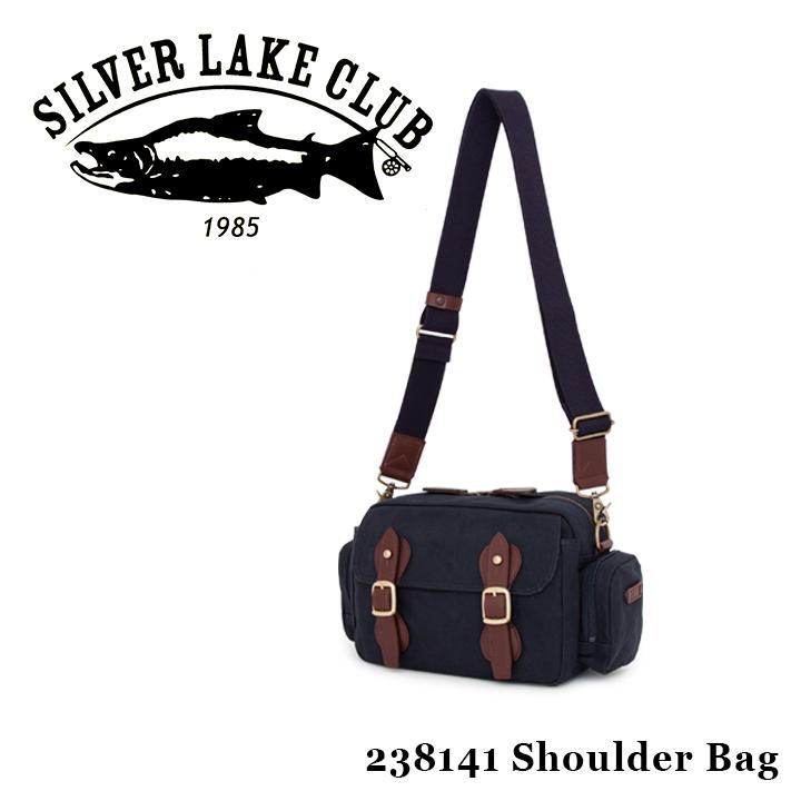シルバーレイククラブ SILVER LAKE CLUB ショルダーバッグ 238141 9号帆布ネイビー 【 メンズ 撥水】[PO10][bef]