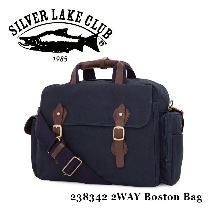 シルバーレイククラブ SILVER LAKE CLUB ボストンバッグ 238342 9号帆布ネイビー 2WAY ショルダーバッグ メンズ 撥水 [PO10][bef]