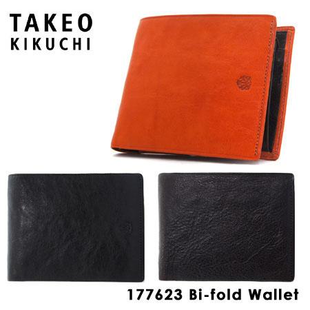 タケオキクチ 財布 メンズ レザー 二つ折り財布 アルド 177623 TAKEO KIKUCHI キクチタケオ【PO5】【bef】【即日発送】