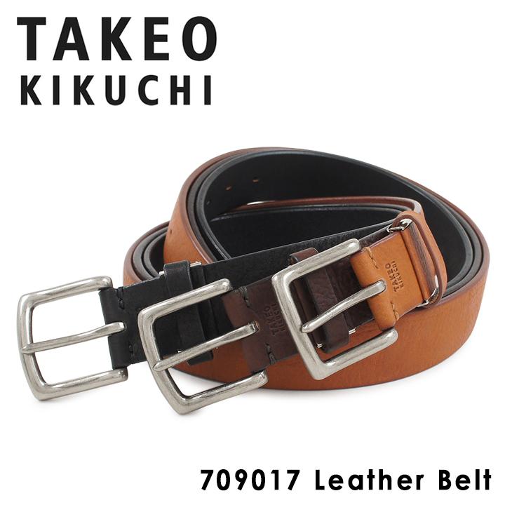 タケオキクチ ベルト メンズ レザー 709017 TAKEO KIKUCHI [PO5][bef][即日発送]