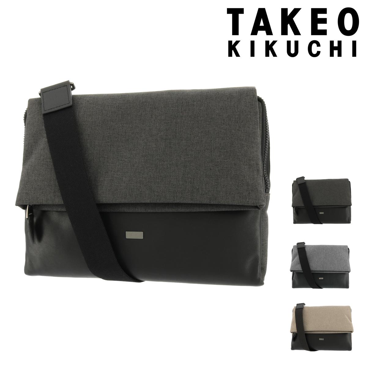 タケオキクチ クラッチバッグ オーランド メンズ753111 TAKEO KIKUCHI | ショルダー付き B5 軽量 牛革 レザー [PO5][bef]