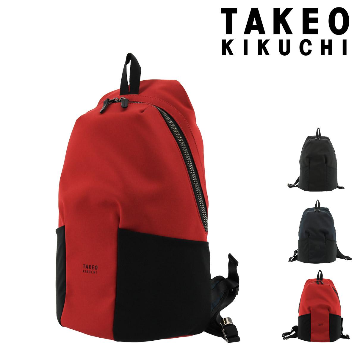 タケオキクチ リュック テムズ メンズ775701日本製 TAKEO KIKUCHI   リュックサック バックパック A4 撥水 軽量 [PO5][bef]