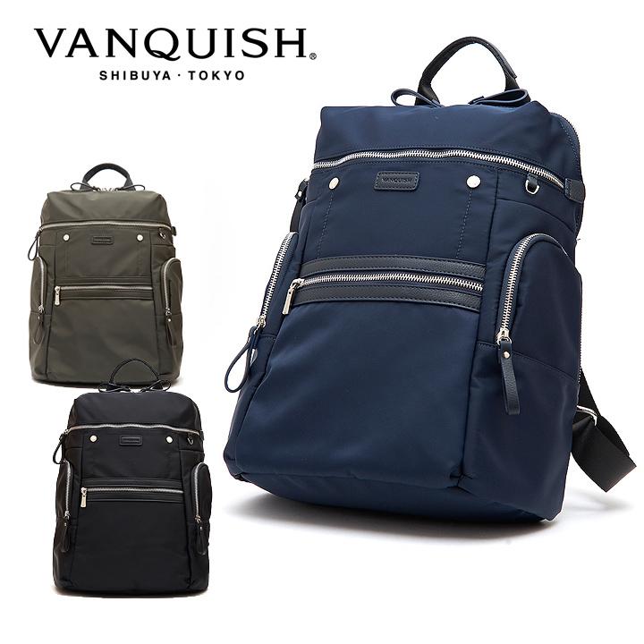 ヴァンキッシュ リュック VQM-41500 VANQUISH バックパック ビジネスバッグ メンズ[PO10][bef]