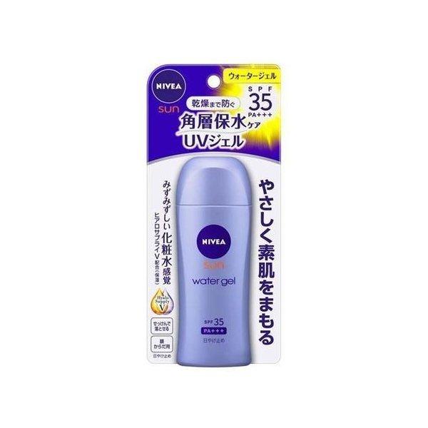 ニベアサン プロテクトウォータージェル 宅配便送料無料 ボトル 80ml 花王 SPF35 sun PA+++ nivea uvケア 定番から日本未入荷 日焼け止め