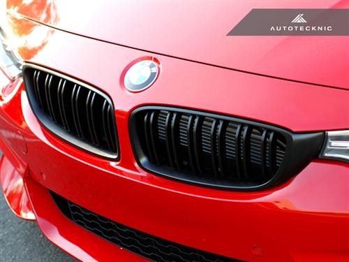 【BMW デュアルスラット・フロントグリル】(ステルスブラック)F32/F80 M3/F82 M4【AUTOTECKNIC】