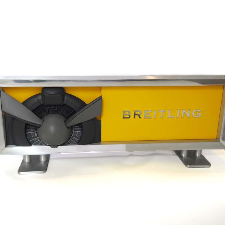 ブライトリング BREITLING ディスプレイ   SS  非売品 オブジェ 450mm×170mm×90mm 【リッチタイム】【中古】