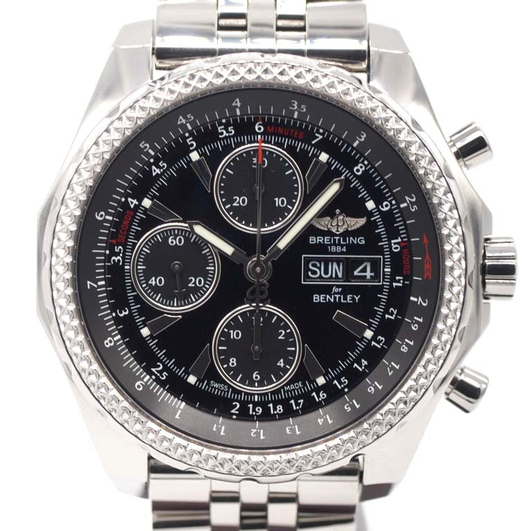 Blight Ring Breitling Bentley Gt A13362 Chronograph Ss Automatic Car Japan Limited
