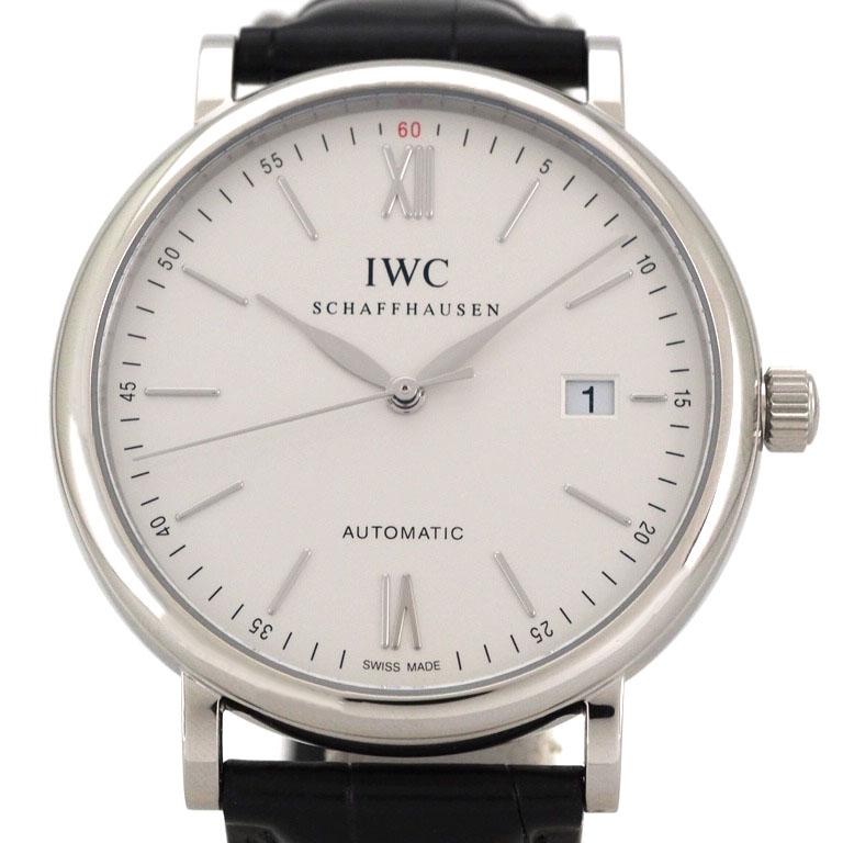 IWC IWC IW356501  SS/革 オートマ  【リッチタイム】【中古】