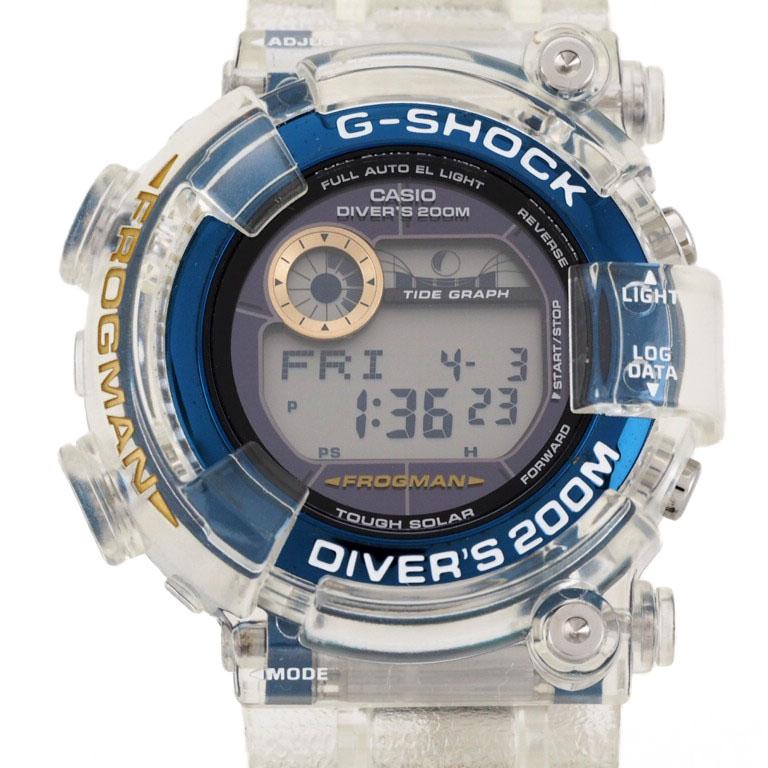 カシオ CASIO Gショック G-SHOCK GF-8251K-7JR デジタル SS/樹脂 クォーツ フロッグマン Love The Sea And The Earth 【美品】 【リッチタイム】【中古】