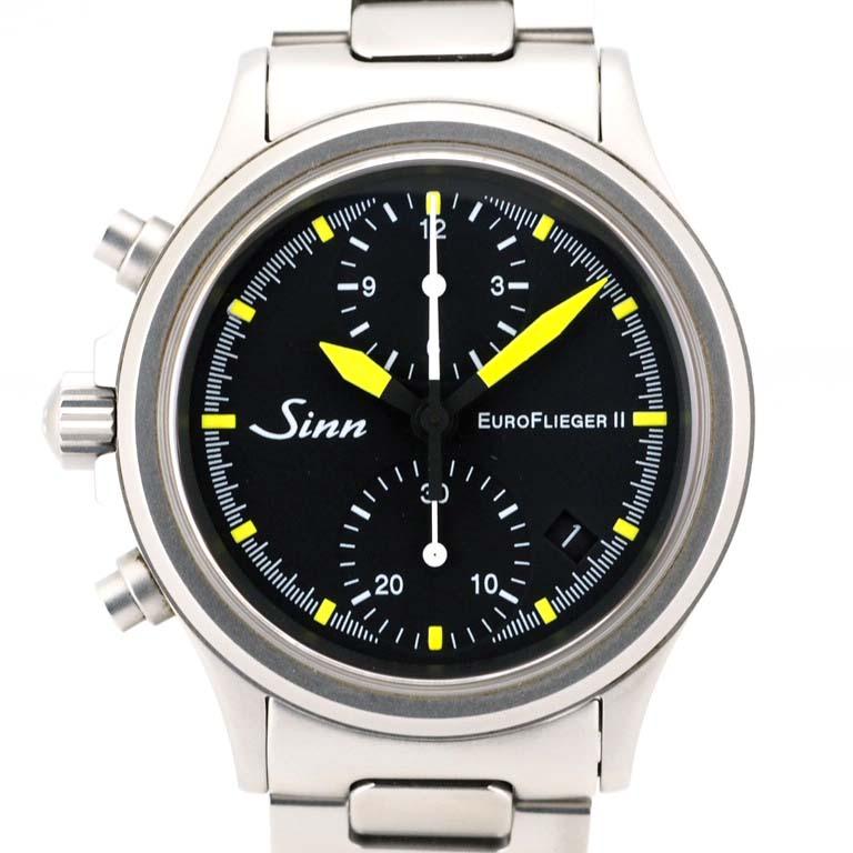 Rich Time 200 Gin Sinn Euro Free Garfish 2 356 Chronograph Ss