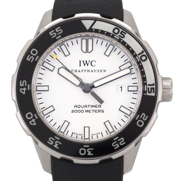 IWC アクアタイマー IW356811  SS/ラバー オートマ オートマチック 2000 【仕上済】 【リッチタイム】【中古】