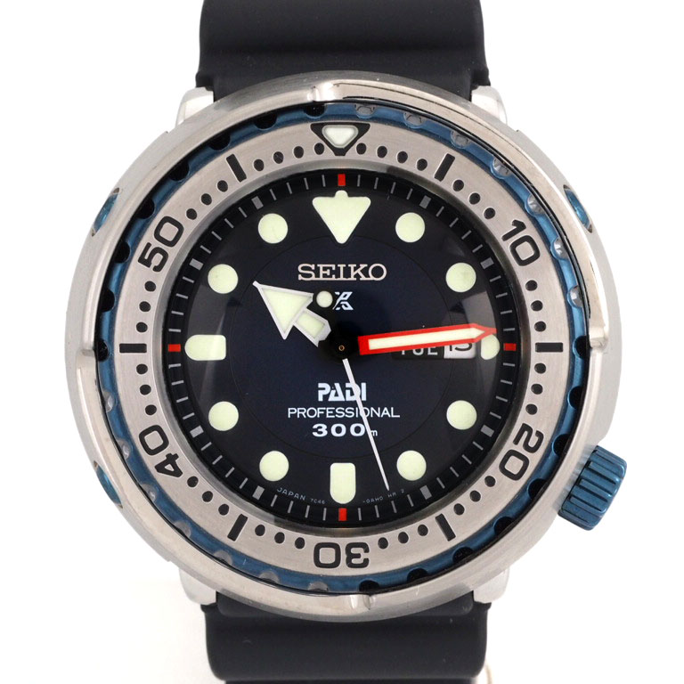 buy online 56f3d 1a9d6 700 SEIKO SEIKO Marlene master SBBN039 7C46-0AK0 SS/ rubber quartz  professional PADI collaboration-limited