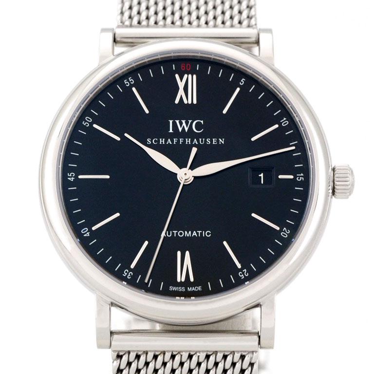 IWC ポートフィノ IW356506 IW356502  SS オートマ  【リッチタイム】【中古】