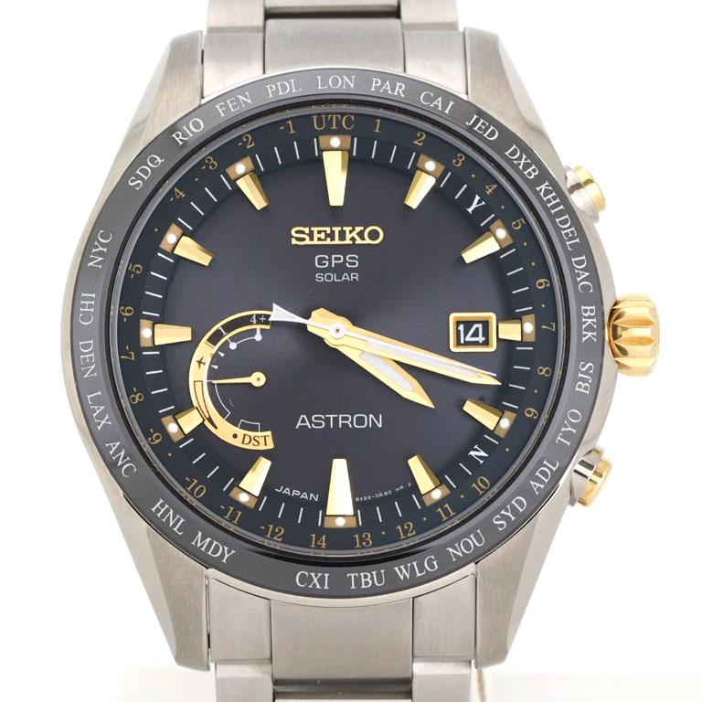 セイコー SEIKO アストロン SBXB087 8X22-0AG0-2 GPS衛星電波 チタン クォーツ  【リッチタイム】【中古】
