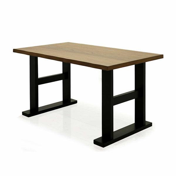 ダイニングテーブル テーブル 150×80 オーク突板材 ナラ 楢 木製 なぐり加工 北欧 シンプル モダン おしゃれ 送料無料
