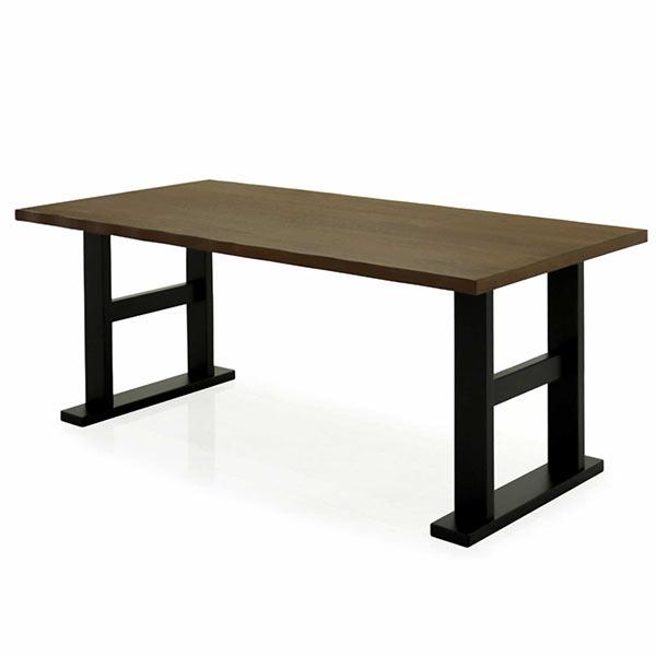 ダイニングテーブル テーブル 150×80 ウォールナット突板材 ウォルナット なぐり加工 北欧 シンプル モダン おしゃれ 送料無料
