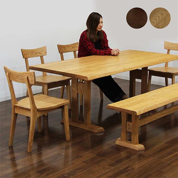 大洲市 ダイニングセット ダイニングセット ダイニングテーブルセット 食卓セット 6点セット 7人掛け 7人用 木製 ベンチ付き シンプル 和風 モダン 木製 食卓セット 送料無料, ユノツマチ:efa4bf7d --- kventurepartners.sakura.ne.jp