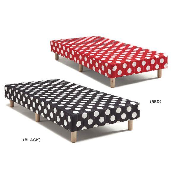ベッド ベット シングルベッド 脚付きマットレスベッド ボンネルコイル 2色対応 送料無料