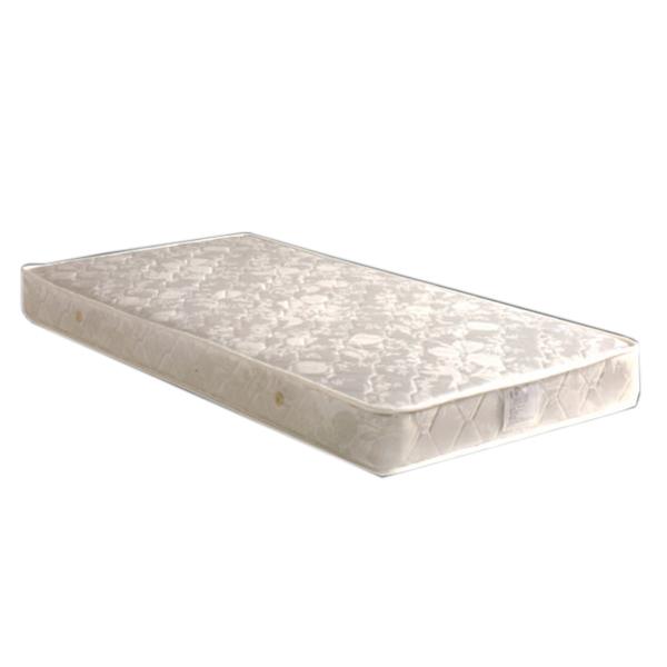 マットレス セミダブル ボンネルコイル スプリング 厚さ18cm ホワイト 白 送料無料