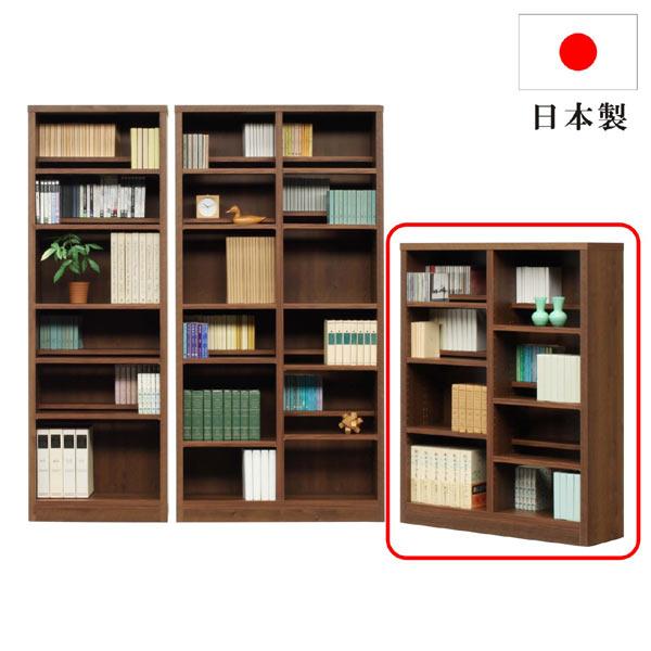 本棚 書棚 棚 シェルフ ラック フリーボード 幅90 奥行30 高さ120 スリム 薄型 木製 おしゃれ 北欧 リビング 収納 多目的 大容量 オープンタイプ シンプル ナチュラル モダン おしゃれ 完成品 送料無料