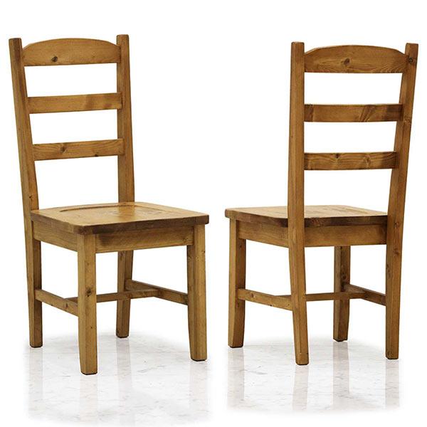椅子 木製 背もたれ ダイニングチェア 2脚セット ナチュラル色 食卓椅子 木製 幅43 奥行51 高さ92 モダンテイスト 高級感 シンプル パイン天然木 北欧風 ダイニングチェア 送料無料