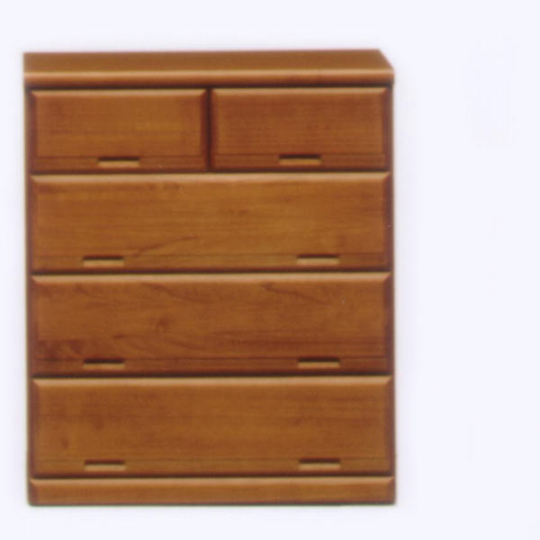 チェスト タンス ローチェスト 押入れチェスト 押入れタンス 幅75cm 4段 キャスター付き 木製 桐材 完成品 送料無料